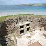 Skara Brae is one of Europe's finest stone-age villages and is just over 5,000 years old