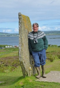Steve at the Ring of Brodgar